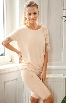 Vonita wiskozowa piżama damska
