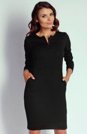 Nommo NA109 sukienka czarna