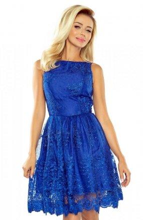 Numoco 173-1 sukienka chabrowa