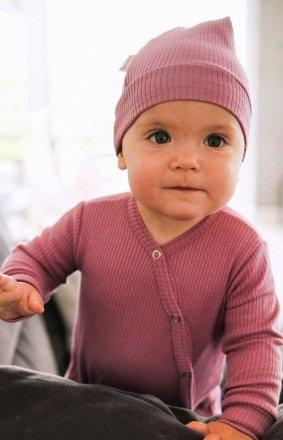 Różowe body niemowlęce BOD.4288