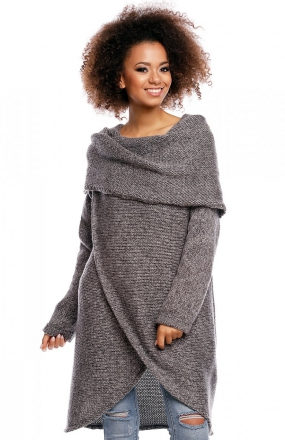 PeekaBoo 30051 sweter ciemny szary