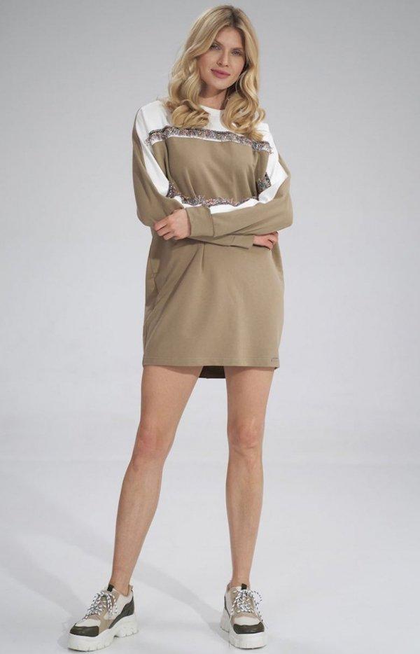 Bawełniana sukienka sportowa M759-1