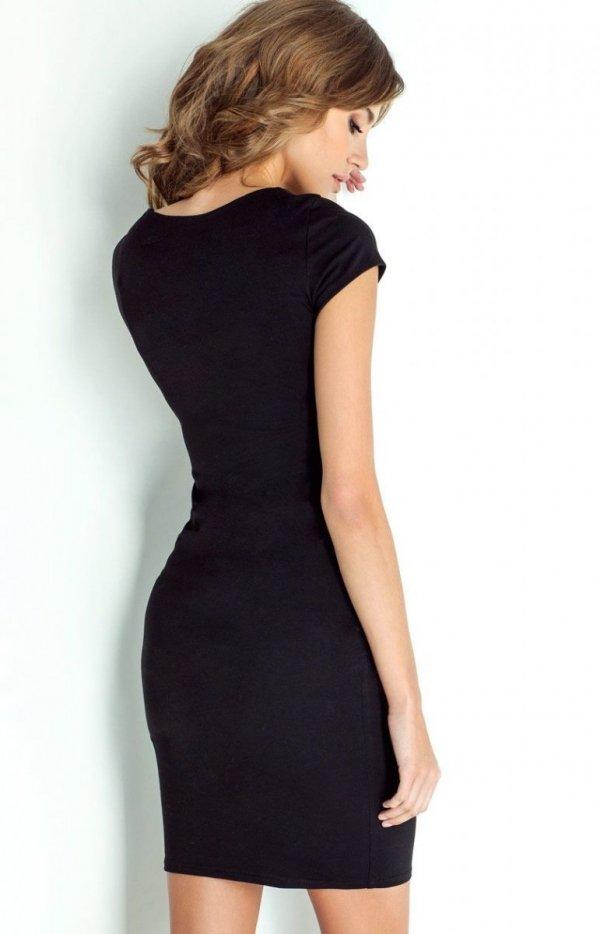 Ołówkowa sukienka Charlotte Ivon tył