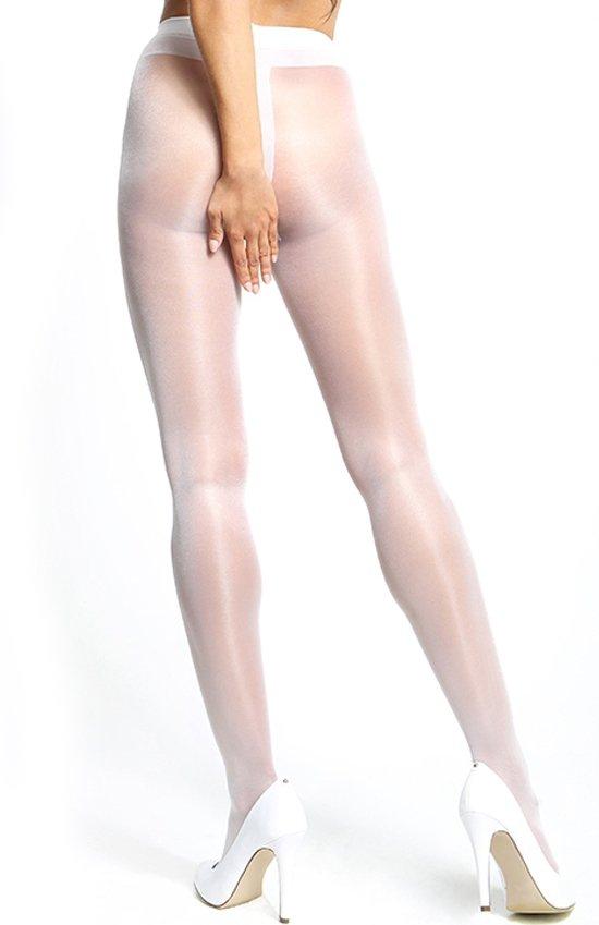 MissO P101 rajstopy białe tył