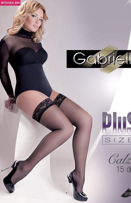 Gabriella Calze 15 DEN Plus Size code 164 pończochy klasyczne