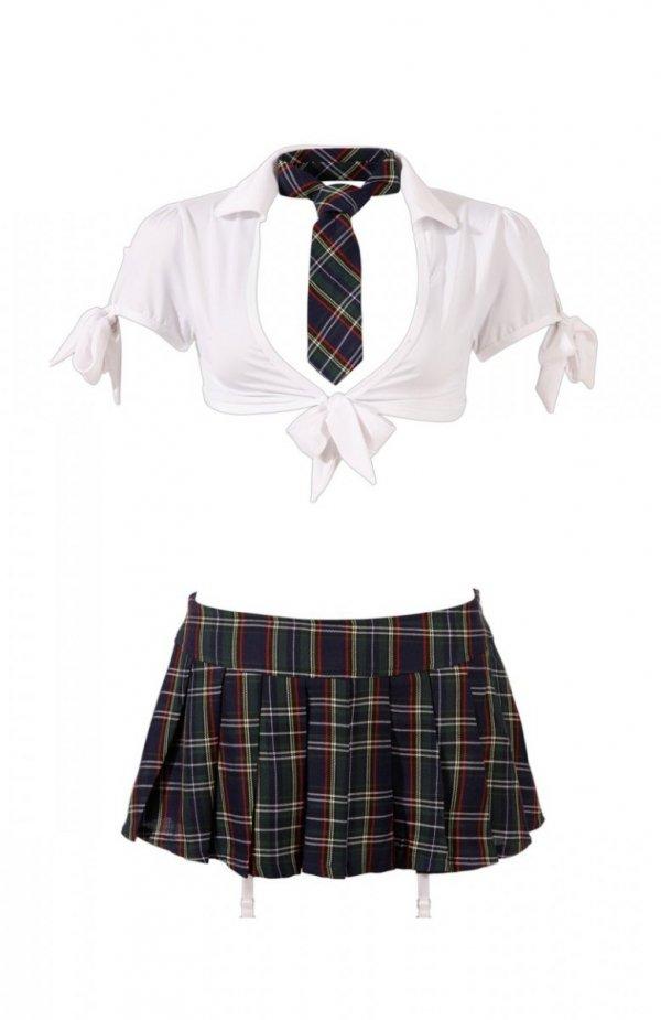 *Cottelli Collection Schoolgirl kostium uczennicy
