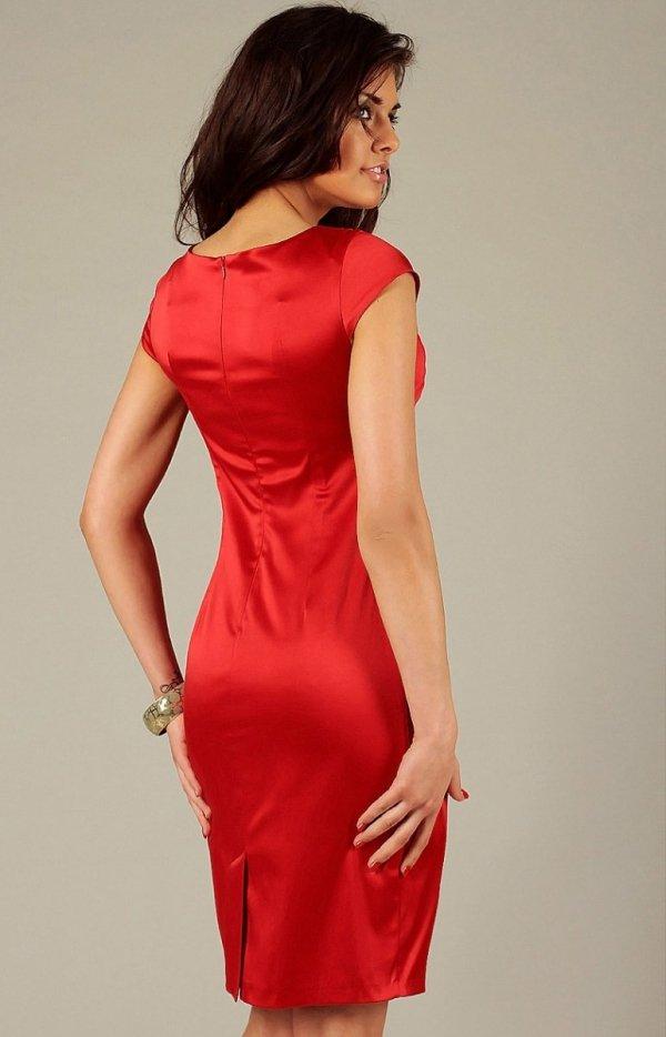 Vera Fashion Tamara sukienka czerwona