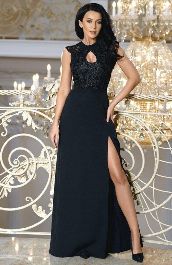 Bicotone 2168-06 sukienka czarna