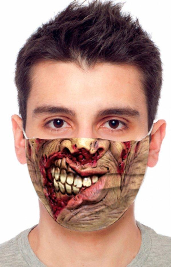 Maseczka ochronna zombi