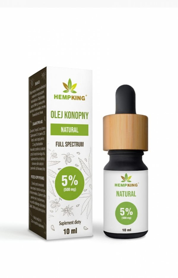 HempKing Olej konopny CBD Natural 5%-1