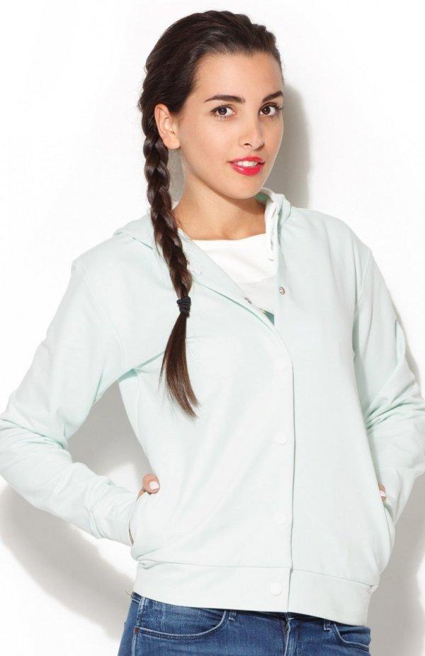 Katrus K190 bluza miętowa