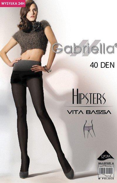 Gabriella Hipsters 40 Den Code 115 rajstopy klasyczne