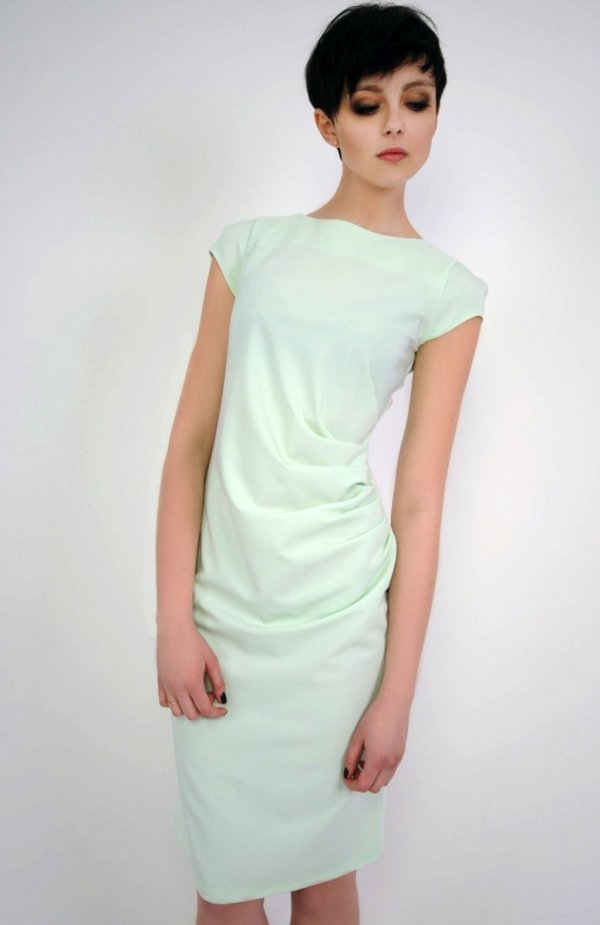 Vera Fashion Tina sukienka seledynowa