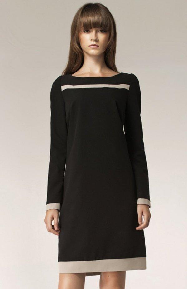 Nife S40 sukienka czarna