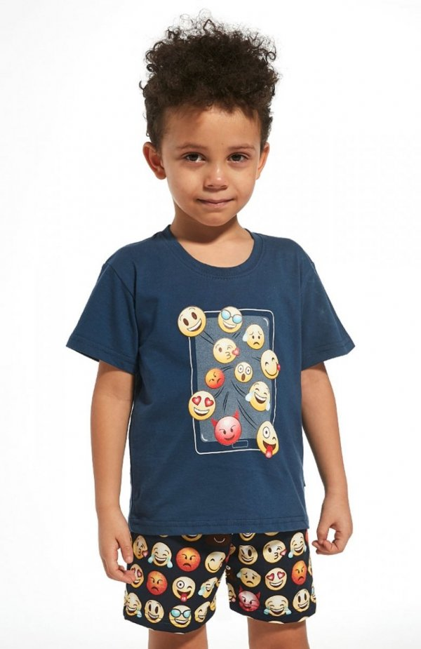 Cornette Young Boy 790/76 Emoticon piżama