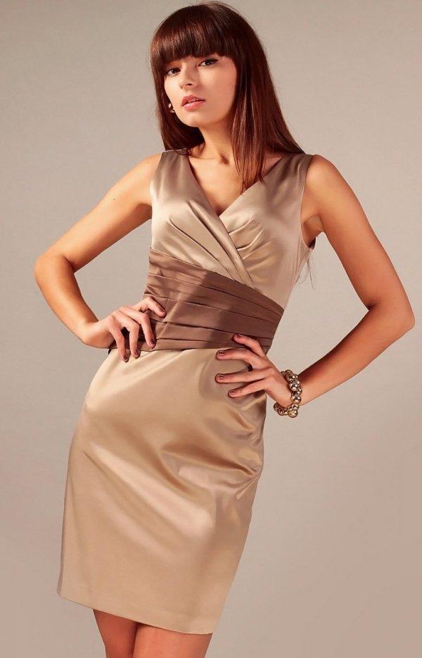 Vera Fashion Oriana sukienka cappucino