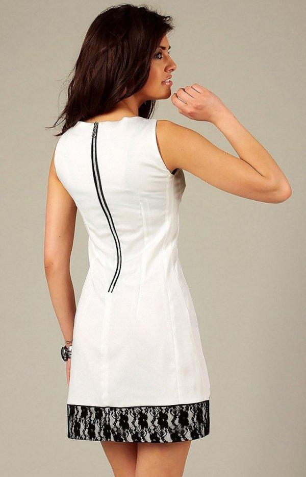 Vera Fashion Simone sukienka kremowa