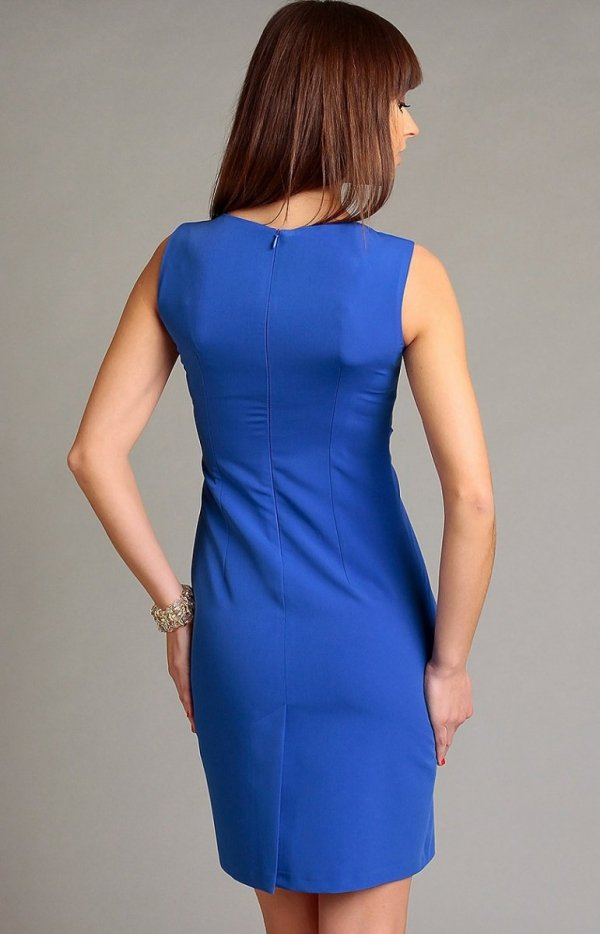 Vera Fashion Chantale sukienka niebieska