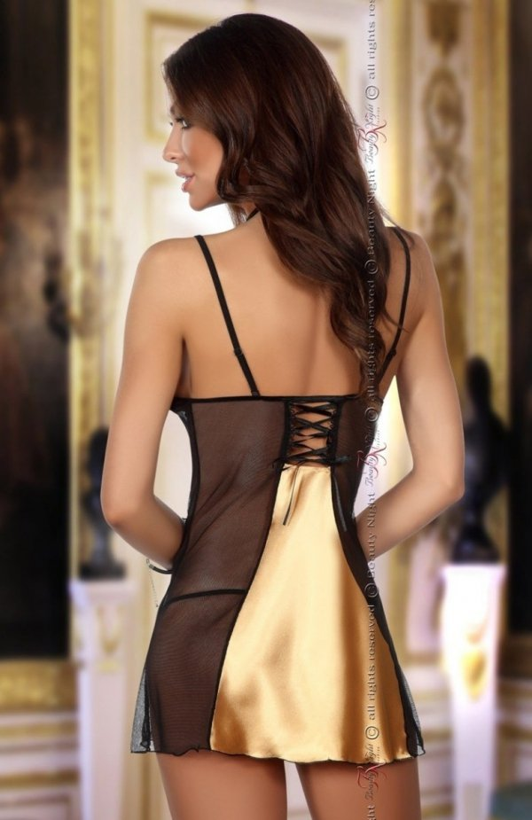 Beauty Night Michele gold komplet