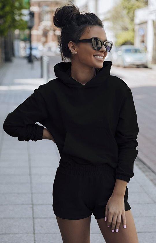 Komplet dresowy Kango czarny