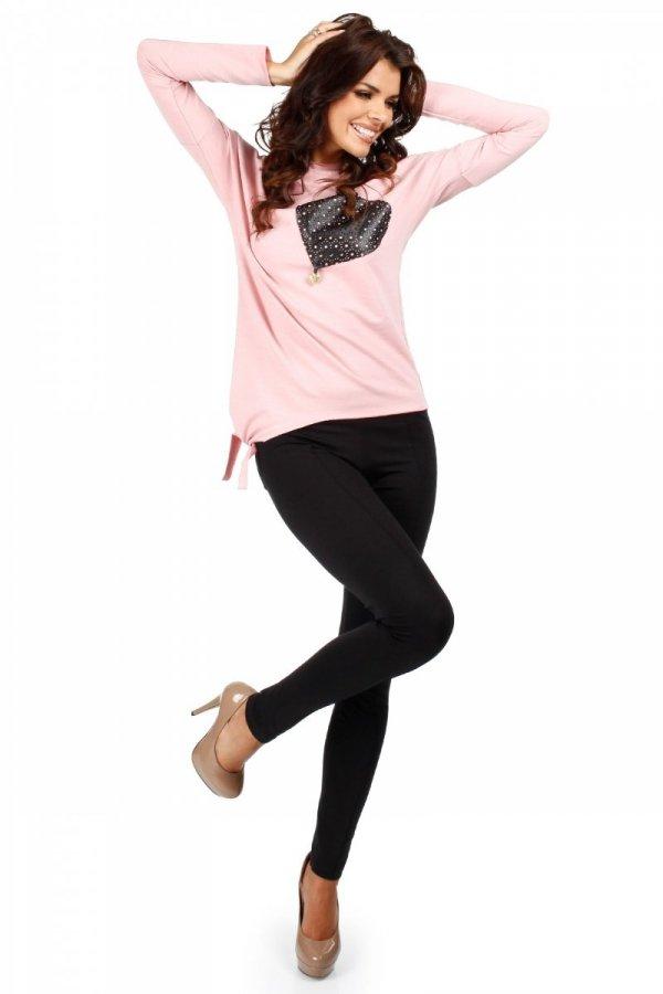 Moe MOE048 bluzka różowa