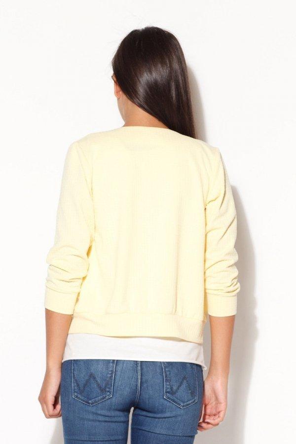 Katrus K169 bluza żółta