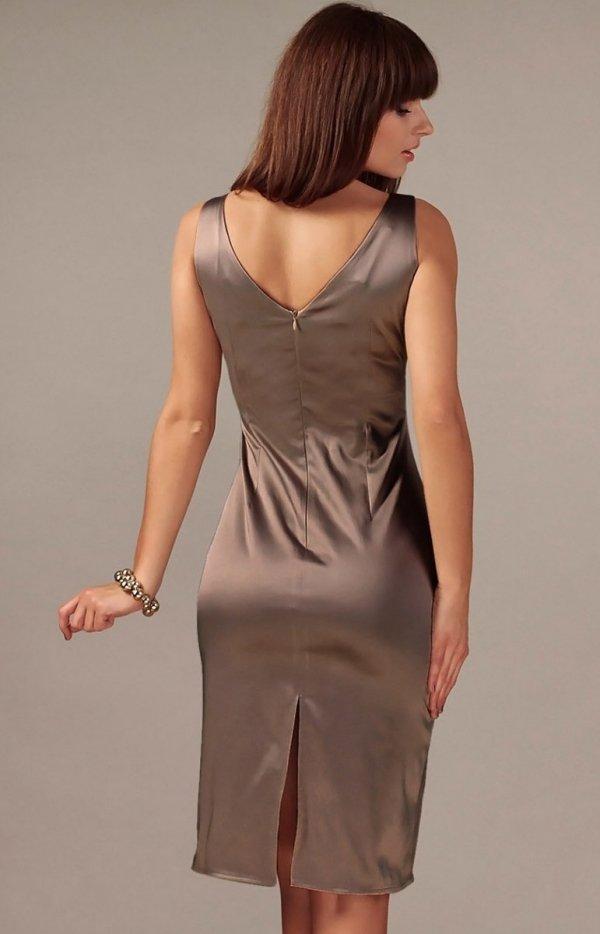 Vera Fashion Afrodyta sukienka cappucino
