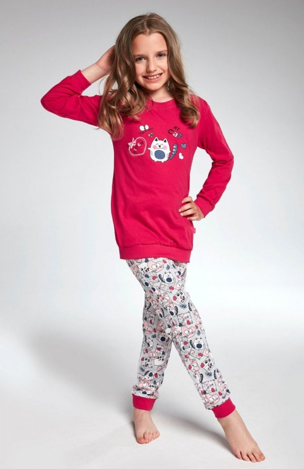 Cornette Kids Girl 594/92 Kitten piżama