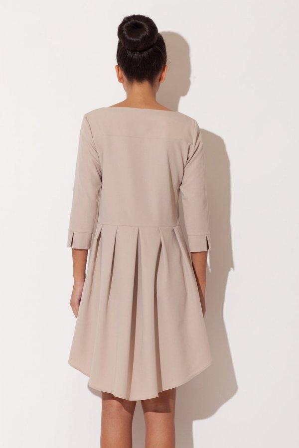 Katrus K141 sukienka beż