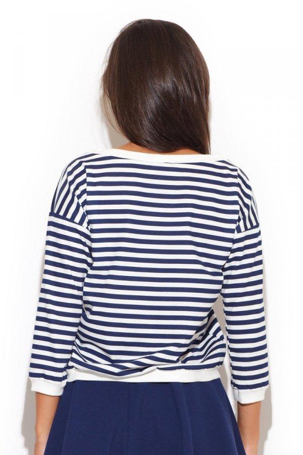 Katrus K204 bluzka niebieska