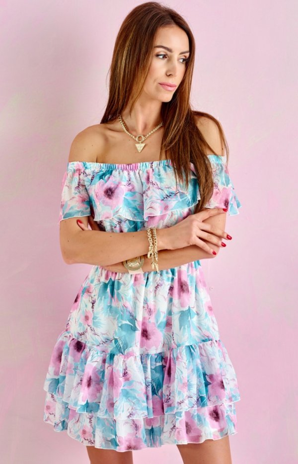 Letnia sukienka hiszpanka 0335