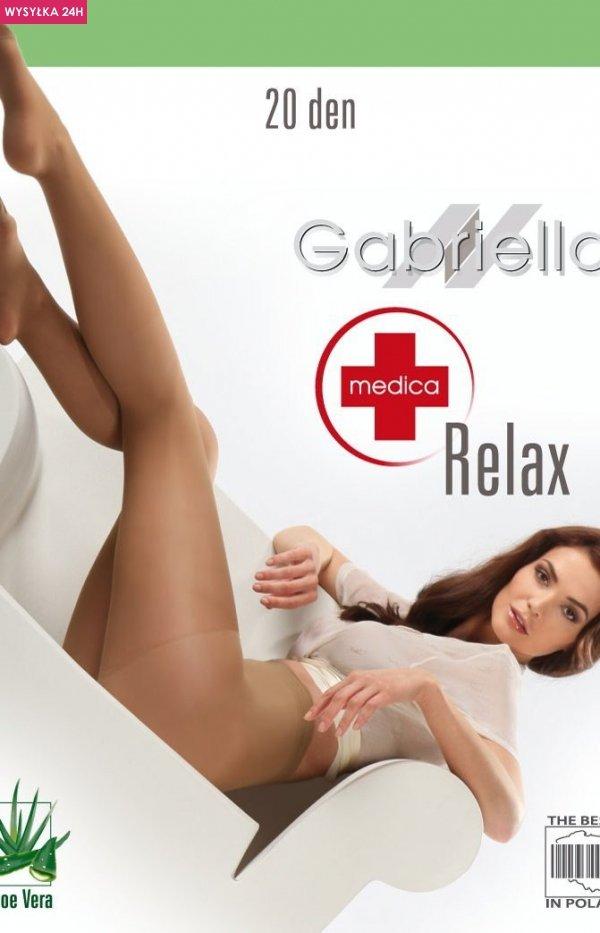 Gabriella Medica Relax 20 DEN Code 110 rajstopy przeciwżylakowe