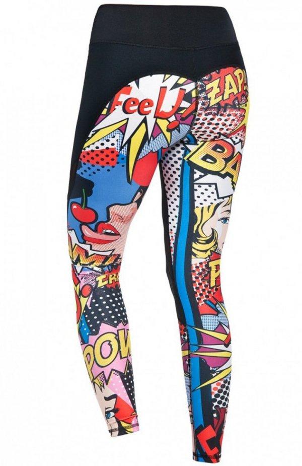 FeelJ! Pop legginsy tył