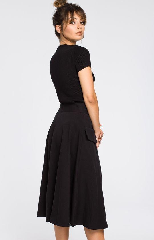 8454edb29d BE B046 spódnica czarna - Spódnice damskie - Ołówkowe spódnice ...