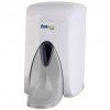 Dozownik (dystrybutor) łokciowy do płynów dezynfekcyjnych i mydła w płynie Faneco Pop (SA500PG-WG) 0,5 litra z tworzywa ABS