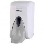 Dozownik (dystrybutor) łokciowy do  mydła w płynie Faneco Pop (SA500PG-WG) 0,5 litra z tworzywa ABS