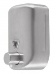 Dozownik (dystrybutor) mydła w płynie Faneco Lab (S820SD-B) 0,8 litra ze stali nierdzewnej