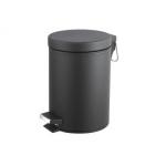 Kosz na śmieci okrągły 3 L czarny EKA-PLAST