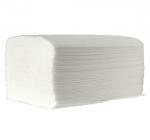Ręczniki papierowe ZZ w listkach ECOCLEAN ZZ 4000 250 x 230 mm 1-warstwowe białe