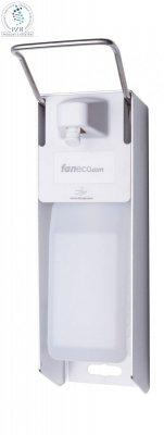 Dozownik łokciowy do płynów dezynfekcyjnych i mydła w płynie Faneco MED500AT 0,5 litra