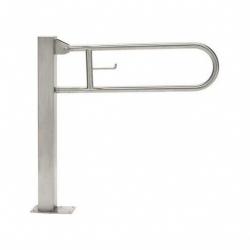 Poręcz przysedesowa uchylna dla niepełnosprawnych Faneco S32UUWCW6P SN P 60 cm stal nierdzewna
