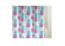 Zasłona prysznicowa Bisk PEVA GARDEN 04000 180x200 cm