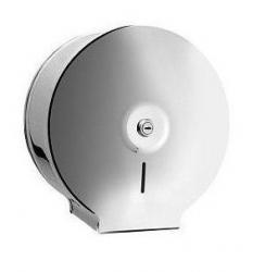 Pojemnik (podajnik) Bisk Masterline Jumbo (01570) na papier toaletowy w rolkach, ścienny, ze stali nierdzewnej