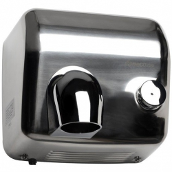 Suszarka do rąk Faneco Sirocco 2500W (DP2500SFB), półautomatyczna, srebrna ze stali nierdzewnej
