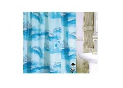 Zasłona prysznicowa tekstylna Bisk NAUTILUS 05900