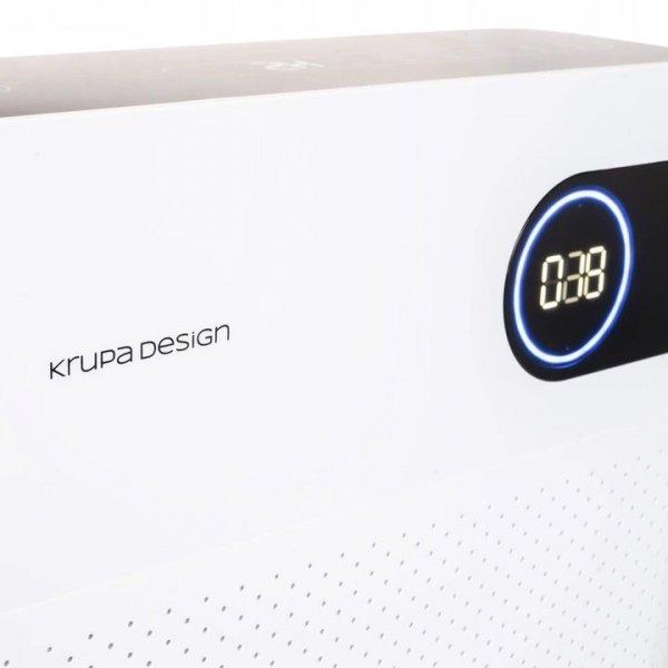 oczyszczacz powietrza do 100m2 z jonizatorem Krupa Design KDAP03 wskaźnik jakości powietrza