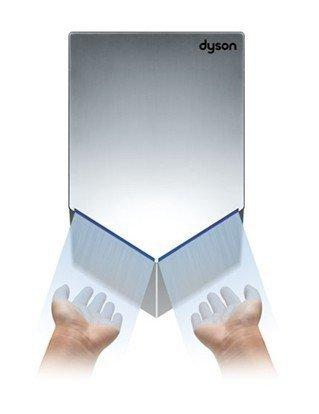 Suszarka do rąk Dyson Airblade V (AB12) 1600W, poliwęglan ABS - srebrna
