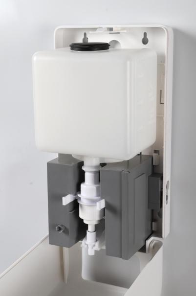 Automatyczny dozownik na  płyny do dezynfekcji rąk 1,2 l Sanjo