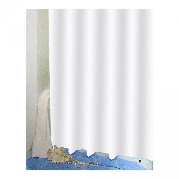 Zasłona prysznicowa Bisk PEVA UNI 03502 180x200 cm