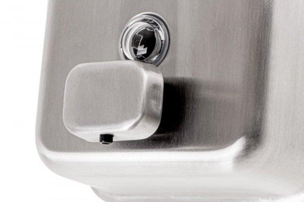 Sanjo Dozownik mydła ze stali nierdzewnej 1000 ml SD1000MB5